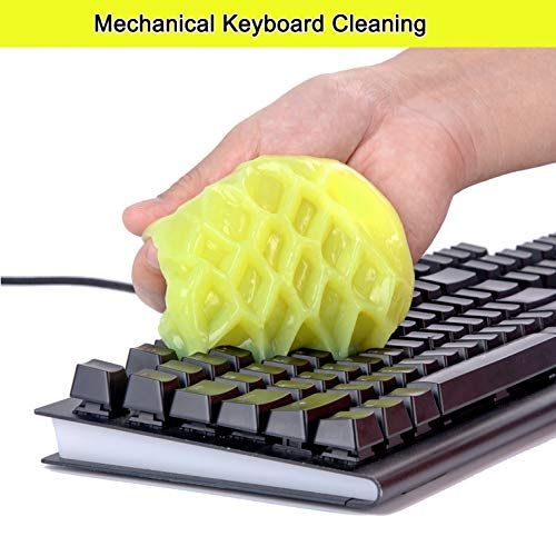Cleaning Gel Universal Dust Cleaner for PC Keyboard Cleaning Car Detailing Laptop Dusting Home and Office Electronics Cleaning Kit Computer Dust Remover fr   om ColorCoral 160G