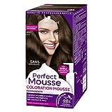 Schwarzkopf - Perfect Mousse - Coloration Permanente Cheveux - Châtain Foncé Doré 450