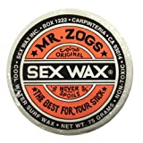 Mr. Zogs Original Sexwax - Cool Water Temperature Coconut Scented (White)