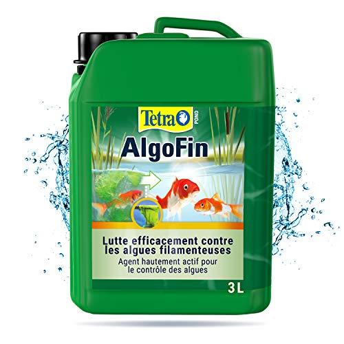 Tetra Pond Algofin - Anti Algue pour Bassin de Jardin - Efficace sur tous types d'Algues - Bidon de 3 litres