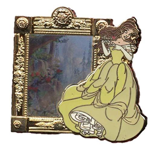 Disney Parks 93468 - Broche para espejo lenticular (diseño de cuentos encantados con Belle)