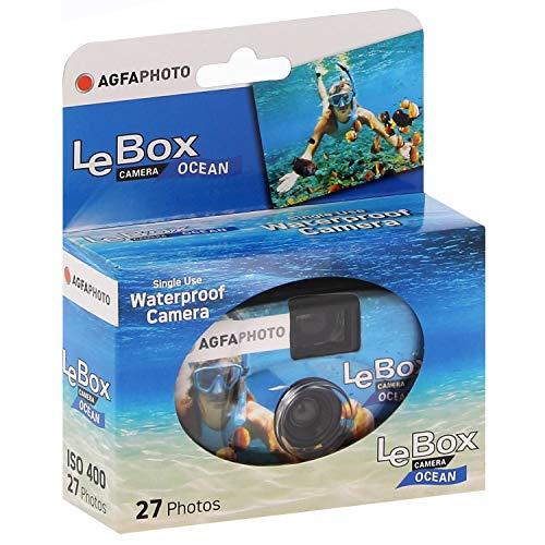 AgfaPhoto LeBox 400-27 Ocean Einwegkamera