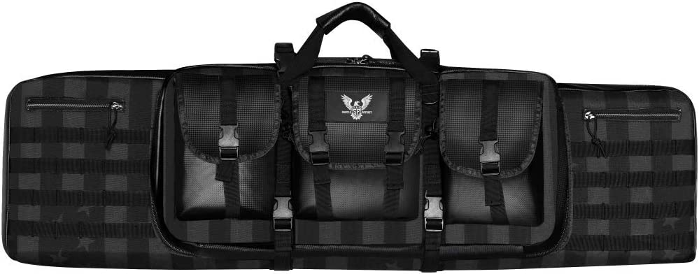 Subtle Patriot Tactical 2 40in Ultra-Cheap Deals Rifle Case 15 So High quality new Magazines M5 4