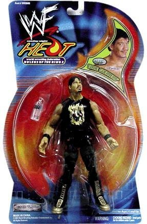 Sunday Night Heat Rulers of the Ring 3 Eddie Guerrero Real Scan Action Figure by World Wrestling Federation