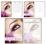 150 Teile Set SPARPREIS - je 50 Bonuskarten, Terminkarten, Gutscheine Make Up Kosmetik Beauty Spa Massage Wellness Kosmetikstudio Nails