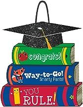 Amscan Stack of Books Value Glitter Sign - Multicolor