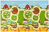 Alfombra de juego – Baby Care – Busy Farm – Large – 2,1 m * 1,4 m * 13 mm