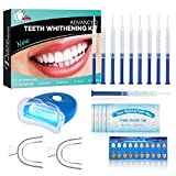 Kit d'Emblanquiment Dental Professional Blanquejador Dents Gel,Contra Dents Grogues, Taques de Fum, Dents Negres-*10x3ML Gel, *1x Llum LED, *2x Safata Dental