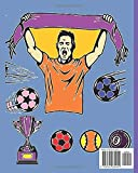 Zoom IMG-1 football colouring book for kids