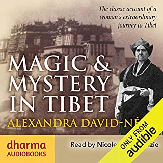 Magic & Mystery in Tibet audiobook cover art