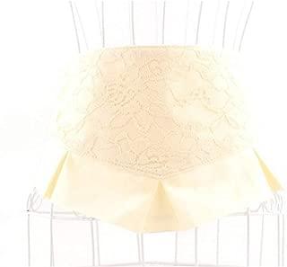 Hats Corset Waist Band Decorative Dress Womens Wide Elastic Stretch Waist Belt Fashion (Color : White)