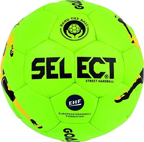 Select Goalcha Street Handball, 42 cm, grün schwarz gelb, 1690942444