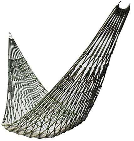 OH Portable Outdoor Sport Hamock, Outdoor Camping Hammock Mesh Net for Garden Beach Yard Travel Garden Swing Hanging Bed Easy to Store