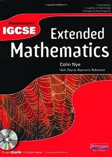 Heinemann IGCSE Extended Mathematics Student Book with Exam Café CD