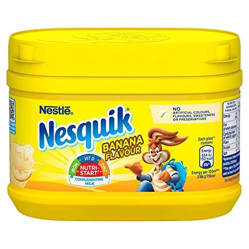 Nesquick Nesquik Banana Milkshake Mix, 300 g, 2 Stück