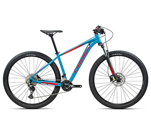 ORBEA MX30, Unisex Mountainbike 29er (L, Blau Bondi-Bright Red)
