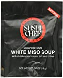 Sushi Chef White Miso Soup Mix, 0.50-Ounce Packets (Pack of 24)