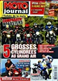 MOTO JOURNAL [No 1900] du 08/04/2010 - SPECIAL LE MANS - 24 HEURS MOTO - COMPARATIF ROADSTERS - 5 GROSSES CYLINDREES AU GRAND AIR...