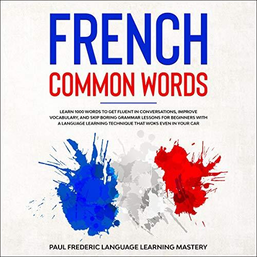 Page de couverture de French Common Words