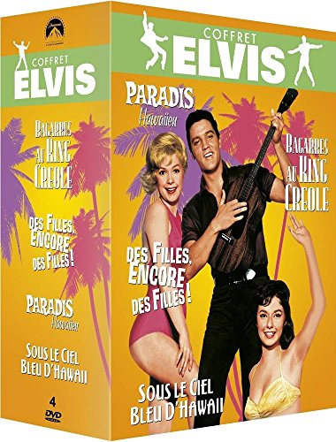 Le coffret DVD des films avec Elvis