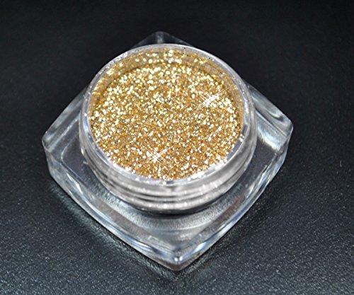 Premium Glitzer Glitter Puder Gold Sahara für Nailart