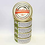 Bierschinken 5x200g Dose, glutamatfreie Dosenwurst, Vorteilsset, Vorratsset, Landmetzgerei Sandritter