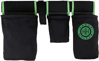 Handy Helper Tool Belt, Organizer, Carrier for Home, Garden, RV - Green Piping