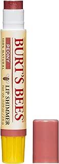 Burt's Bees 100% Natural Moisturizing Lip Shimmer, Peony - 1 Tube