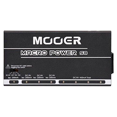 Mooer Macro Power S8 Alimentatore per Pedali