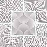 40m² techo panorámico de placas de efecto poliestireno placas de paneles 50x 50cm, Shells Grey