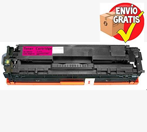 GOLDAN REMANUFACTURADO HP TONER CB543A Magenta 1.400 Paginas Reemplazo para CP1215 / CP1515 / CP1518 ENTREGA GRATIS 24/48h