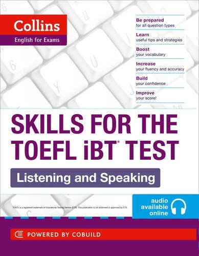 TOEFL Listening and Speaking Skills (Collins English for the TOEFL Test) by Collins UK (2012-04-01)