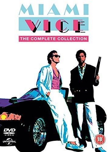 Miami Vice - The Complete Collection (32 Dvd) [Edizione: Regno Unito] [Reino Unido]