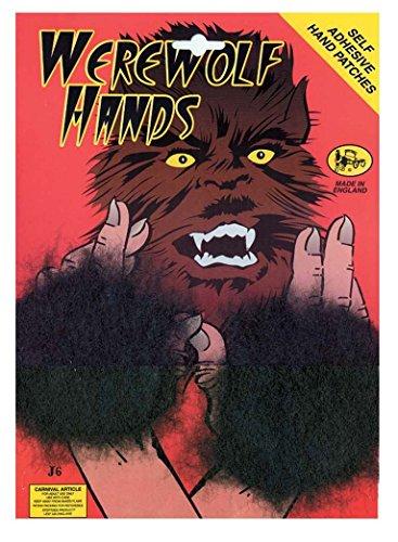 Adult Werewolf Hand Patches Fancy Dress