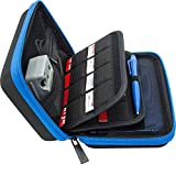 Brendo Carrying Case for New Nintendo 3DS XL, 2DS XL, 3DS Case, Fits Wall Charger, 24 Game Cartridge Holders...