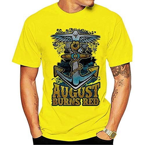 August Burns Red tee Melodic Metalcore Band Jake Luhrs S-3XL T-Shirt Mens...