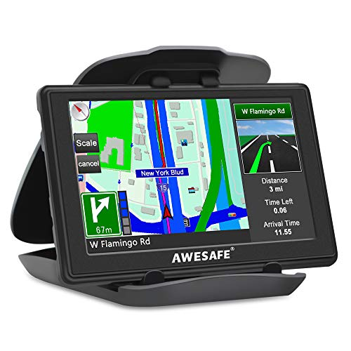 GPS Para Coches 5 Pulgadas Pantalla LCD