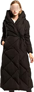 Surprise S Luxury Winter Women's Down Jacket Extra Long 90% White Duck Down Coats