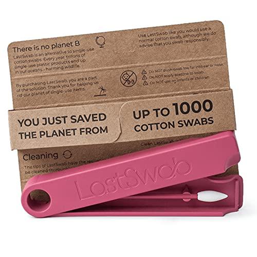LastSwab Coton Tige Réutilisable Démaquillant de LastObject - Coton Démaquillant Écologique - Conçu au Danemark - Coton Tige Beauté - Produit Originel de Kickstarter - Zero Dechet