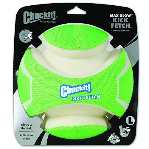 Chuckit CI Kick Fetch Max Glow Jouet pour Chien Taille M 19 cm