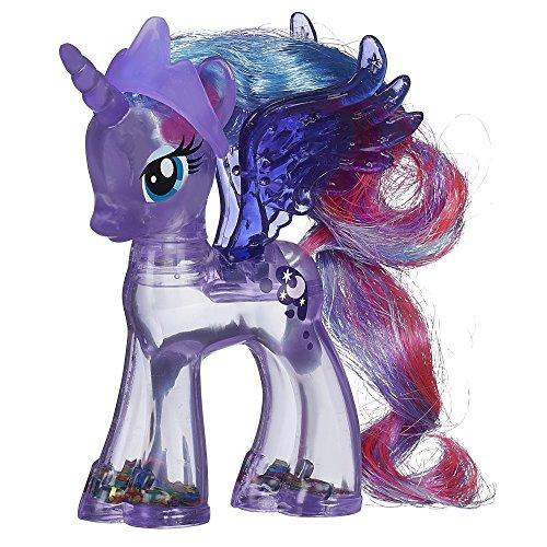 My little Pony, Prinzessin Luna, Ponyfigur, glitzernde Regenbogenfarben