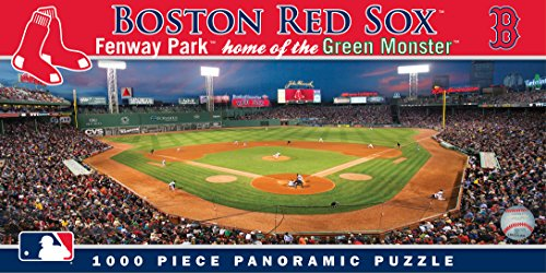 MasterPieces MLB Panoramics 1000 Puzzles Collection - Boston Red Sox MLB Panoramics 1000 Piece Jigsaw Puzzle