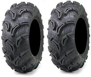 Pair of Maxxis Zilla ATV Mud Tires 26x9-12 (2)