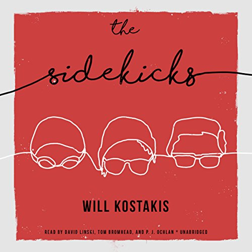 The Sidekicks audiobook cover art