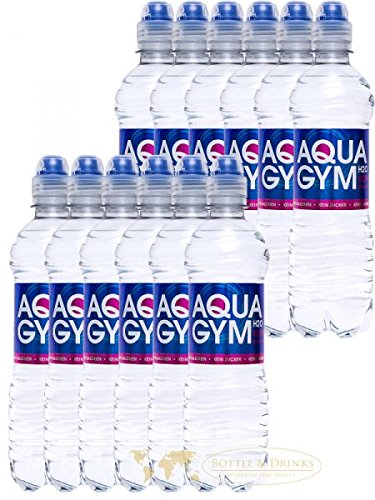 AQUAGYM H2O EXTRA STRONG 12 x 0,5l Erfrischungsgetränk koffeinhaltig und kalorienfrei