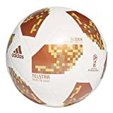 adidas World Cup Glider Trainingsball, White/Copper Gold/Gold met, 5