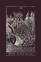 The Empress: Tarot Card Notebook Raisin Black 120-Page (Tarot Card Journals) (Volume 1)