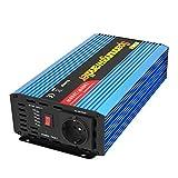 EDECOA Convertisseur de Tension 1000w Convertisseur 12v 230v avec des informations sur la capacité de la Batterie et Les câbles