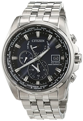 Citizen Herren-Armbanduhr Analog Quarz Edelstahl AT9030-55L