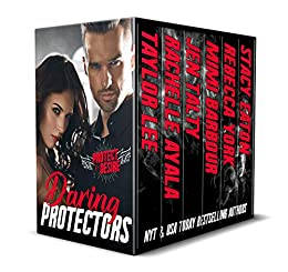 Daring Protectors - Where Danger and Passion Collide (Protect and Desire Book 1) by [Taylor Lee, Rachelle Ayala, Jen Talty, Mimi Barbour, Rebecca York, Stacy Eaton]